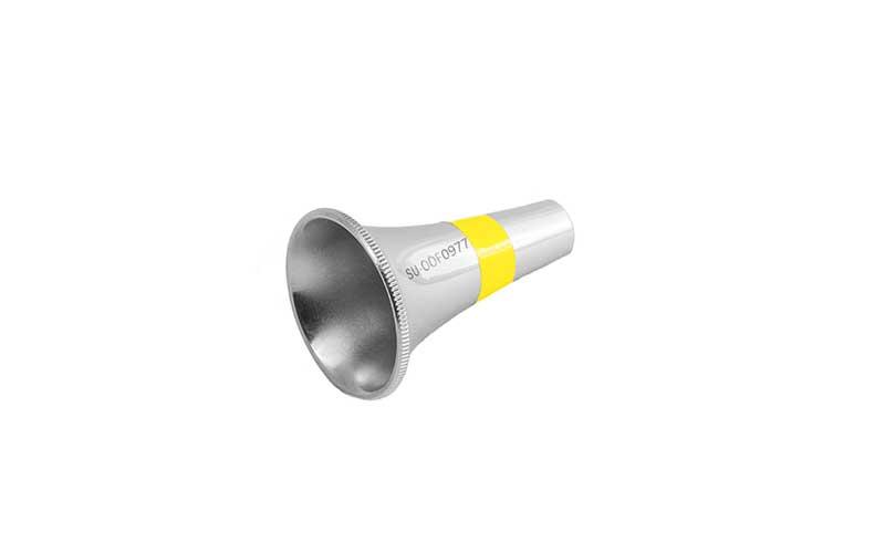 SU OOF0977 Ohrspekula nach Rosen, rund, D 7,0 mm 38 mm